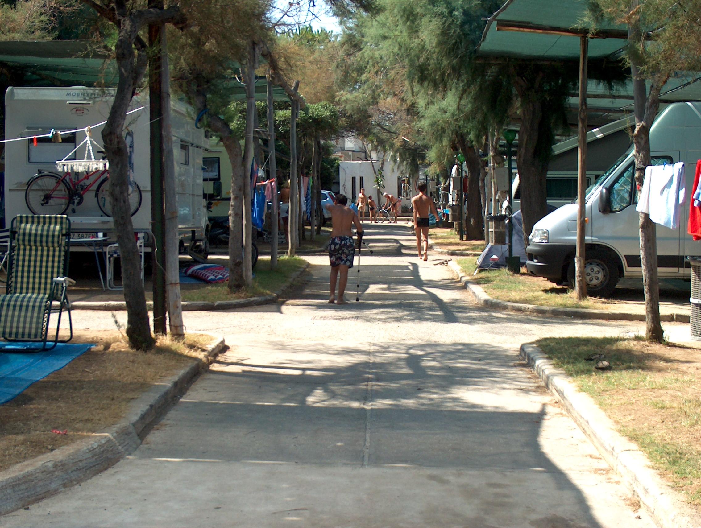 La nostra area campeggio