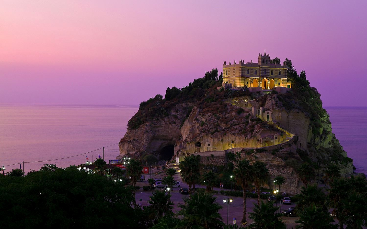 Tropea by night….