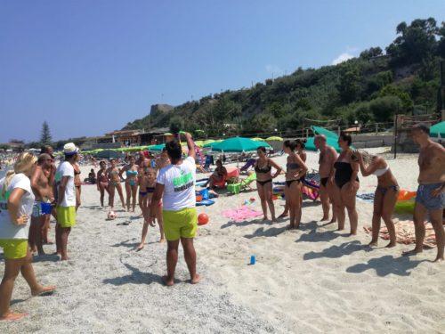 Ballo in spiaggia